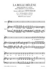 Invocation A Venus. la Belle Hélène Jacques Offenbach laflutedepan.com