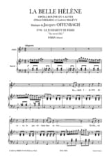 Au Mont Ida. La Belle Hélène - Jacques Offenbach - laflutedepan.com