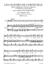 Robert Planquette - I did 3 times the World Tour. the Bells of Corneville - Sheet Music - di-arezzo.com
