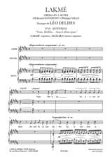 Léo Delibes - Under a dome. Lakmé - Sheet Music - di-arezzo.co.uk