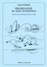 Promenades Au Pays D'enfance Claude Germain Partition laflutedepan.com