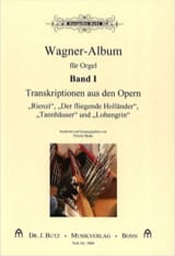 Transcriptions D'opéras Volume 1 WAGNER Partition Orgue - laflutedepan