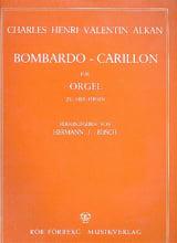Bombardo-Carillon ALKAN Partition Orgue - laflutedepan