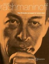 Sergei Rachmaninov - 5 Préludes. 4 Mains - Partition - di-arezzo.fr