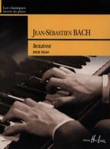 Sicilienne Du Concerto BWV 596 BACH Partition Piano - laflutedepan.com