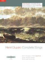 17 Mélodies. Voix Haute Henri Duparc Partition laflutedepan.com
