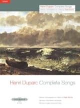 Henri Duparc - 17 Melodies. Aloud - Sheet Music - di-arezzo.com