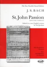 Passion Selon Saint Jean. BWV 245 BACH Partition laflutedepan.com