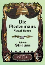 Die Fledermaus Johan Strauss Partition Opéras - laflutedepan.com