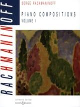 Piano Compositions. Volume 1 - Sergei Rachmaninov - laflutedepan.com