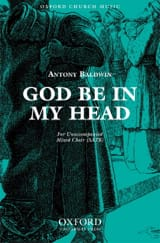 Baldwin - God Be In My Head - Partition - di-arezzo.fr