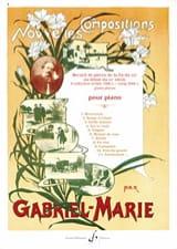 Nouvelles Compositions Gabriel-Marie Partition laflutedepan.com