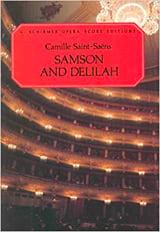 Samson et Dalila Camille Saint-Saëns Partition laflutedepan.com