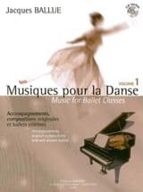 Musiques Pour la Danse Volume 1 Jacques Ballue laflutedepan.com