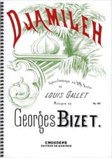 BIZET - Djamileh Opus 24 - Sheet Music - di-arezzo.co.uk