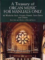 - A Treasury Of Organ Music For Manuals Only - Partition - di-arezzo.fr