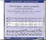 Die Erste Walpurgisnacht Op. 60. CD Ténor MENDELSSOHN laflutedepan.com