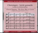 Petite Messe Solennelle. CD Soprano Gioachino Rossini laflutedepan.com