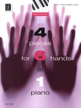 4 Pieces For 6 Hands. 6 Mains - Mike Cornick - laflutedepan.com