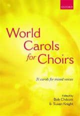 World Carols For Choir. - Partition - Chœur - laflutedepan.com