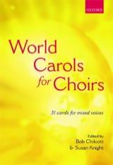 World Carols For Choir. Partition Chœur - laflutedepan.com
