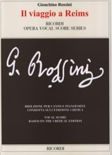 Gioachino Rossini - It Viaggio A Reims. Critical Edition - Sheet Music - di-arezzo.co.uk