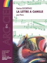 La Lettre A Camille Patrice Sciortino Partition laflutedepan.com