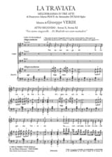 VERDI - Noi Siamo Zingarelle. the Traviata - Sheet Music - di-arezzo.co.uk
