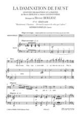 BERLIOZ - In front of the house of the one who adores you. the Damnation of Faust - Sheet Music - di-arezzo.co.uk