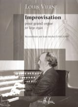 Improvisation Louis Vierne Partition Orgue - laflutedepan.com