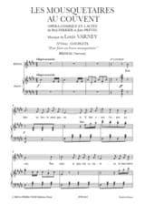 Louis Varney - Pour Faire un Brave Mousquetaire. Les Mousquetaires Au Couvent - Partition - di-arezzo.fr