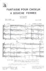 Fantaisie A Bouche Fermée Jehan Alain Partition Chœur - laflutedepan