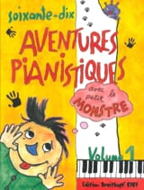 70 Aventures Pianistiques Volume 1 Partition Piano - laflutedepan.be