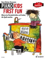 Piano Kid First Fun Hans-Günter Heumann Partition laflutedepan.com