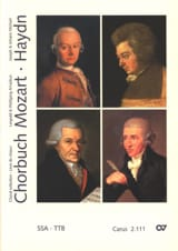 Chorbuch Volume 1. Voix Egales MOZART / HAYDN Partition laflutedepan