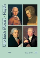 MOZART / HAYDN - Chorbuch Volume 2. Mixed Choir - Sheet Music - di-arezzo.com