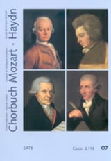 MOZART / HAYDN - Chorbuch Volume 3. 4 Mixed Voices - Sheet Music - di-arezzo.com
