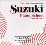 Suzuki - Suzuki Piano School Volume 3/4. Cd - Partition - di-arezzo.fr
