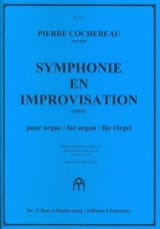 Symphonie En Improvisation Pierre Cochereau Partition laflutedepan.com