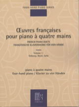 Oeuvres Françaises Pour Piano 4 Mains Volume 1 laflutedepan.com