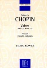 14 Valses CHOPIN Partition Piano - laflutedepan.com