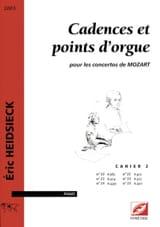 Cadences et Points D'orgue Pour les Concertos de Mozart Vol 2 laflutedepan.com