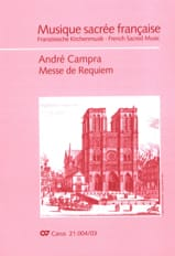 André Campra - Requiem - Sheet Music - di-arezzo.co.uk