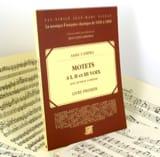 Motets A 1, 2 et 3 Voix Livre 1 - André Campra - laflutedepan.com