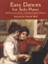Easy Dances For Solo Piano Partition Piano - laflutedepan.com