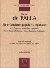 Manuel de Falla - 7 Canciones Populares Espanolas. - Partition - di-arezzo.fr