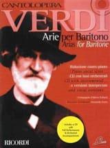 VERDI - Arie Per Baritono - Partition - di-arezzo.fr