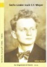 6 Lieder Nach Gedichten Von Meyer - Wilhelm Kempff - laflutedepan.com