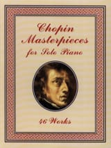 Masterpieces For Solo Piano CHOPIN Partition Piano - laflutedepan.com