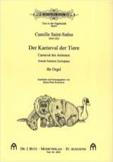 Le Carnaval des Animaux. Orgue Camille Saint-Saëns laflutedepan.com
